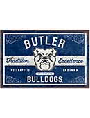 Butler University Large Tin Sign