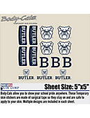 Butler University Body Decal