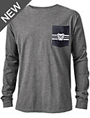 Butler University Vintage Washed Long Sleeve Pocket T-Shirt