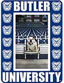 Butler Mascot Magnetic Picture Frame