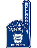 Butler University Bulldogs Foam Hand