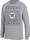 Butler University Bulldogs Ugly Christmas Sweater Long Sleeve T-Shirt