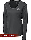 Butler University Dry-Tec Women's V-Neck Long Sleeve T-Shirt - ONLINE ONLY