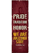 Arizona State University 48'' x 18'' Pride Banner