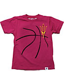 Arizona State University Basketball Toddler Boy's T-Shirt