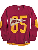 1513C Arizona State University Toddler Pennant Long Sleeve Tee