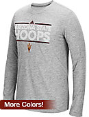 Adidas Arizona State University Ultimate Dassler Basketball Long Sleeve T-Shirt