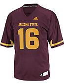 Arizona State University #16 Replica Football Jersey Extended Sizes