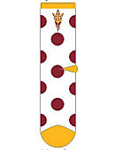 Arizona State University Youth Girls Crew Socks