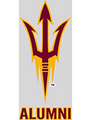 Arizona State University Alumni Sun Devils Decal