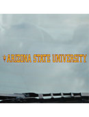 Arizona State University Strip Decal