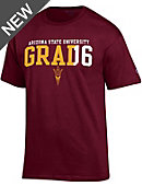 Arizona State University Sun Devils Graduate Short Sleeve T-Shirt