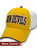Arizona State University Stretch Fitted Micro Mesh Cap