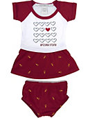 Arizona State University Infant Dress, Shirt, Skirt Set