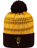 Arizona State University Sun Devils Christmas Cuffed Pom Hat
