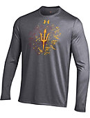 Under Armour Arizona State University Long Sleeve Nu Tech Performance T-Shirt