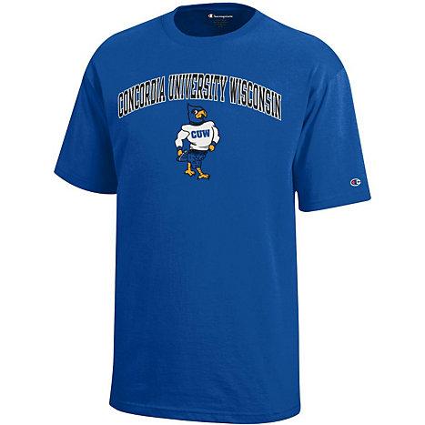 Concordia University Wisconsin Falcons Youth T Shirt