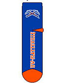 University of Wisconsin - Platteville Pioneers Thick Quarter Socks