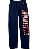 University of Wisconsin - Platteville Open Bottom Sweatpants