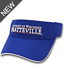 University of Wisconsin - Platteville Ultralite Visor