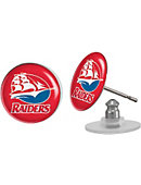 Shippensburg University Raiders Domed Earrings 3-Count