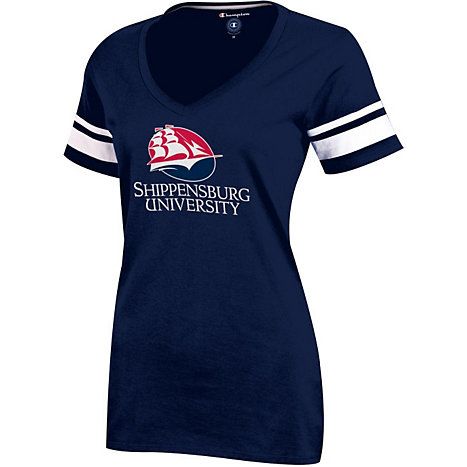 Product: Shippensburg University Women's Gym V-Neck T-Shirt