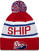 Shippensburg University Raiders Biggest Fan Knit Pom Hat