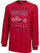 Shippensburg University Youth Christmas Ugly Sweater Long Sleeve T-Shirt