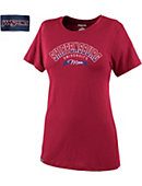 Shippensburg University Raiders Women's Mom Relaxed Fit Short Sleeve T-Shirt