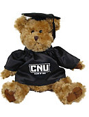 Christopher Newport University  10 in. Cap and Gown Plush Bear