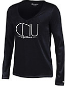 Christopher Newport University Women's Long Sleeve V-Neck T-Shirt