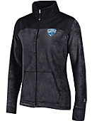 Christopher Newport University Captains Women's Athletic Fit Full Zip Fleece