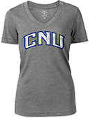 Christopher Newport University Women's V-Neck T-Shirt