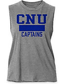 Christopher Newport University Women's Muscle Tank Top
