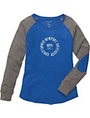 Christopher Newport University Captains Women's Slim Fit Long Sleeve T-Shirt