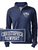 Christopher Newport University  Women's 1/2 Zip Top