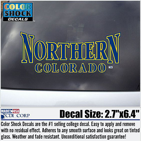 Product: University of Northern Colorado Bears Decal
