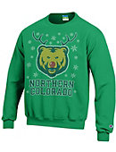 University of Northern Colorado Bears Ugly Sweater Crewneck Sweatshirt