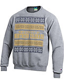 University of Northern Colorado Ugly Christmas Sweater Powerblend Crewneck Sweatshirt