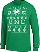 University of Northern Colorado Ugly Christmas Sweater Long Sleeve T-Shirt