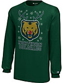 University of Northern Colorado Bears Youth Christmas Long Sleeve T-Shirt