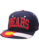 University of Northern Colorado Flat Brim Snap Cap