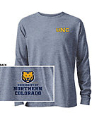 University of Northern Colorado Tri-blend Twisted Long Sleeve T-Shirt