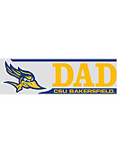 California State University - Bakersfield Roadrunners Dad Decal