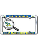 California State University - Bakersfield Roadrunners Thin Dome License Plate Frame