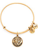 Johnson & Wales University Gold Expandable Wire Bracelet