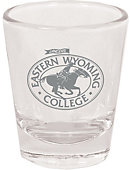 Eastern Wyoming College Lancer 1.5 oz. Collector's Glass