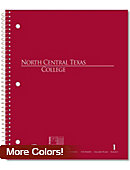 North Central Texas College - Gainesville 100 Sheet Notebook