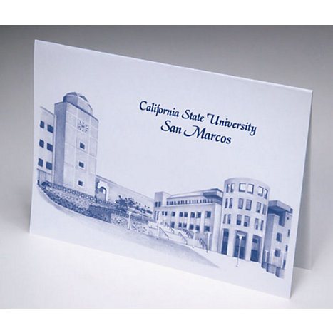 Product: California State University San Marcos 4 x 5.25 Notecards
