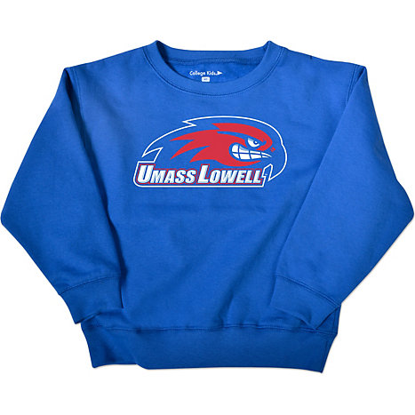 UMass - Lowell River Hawks Toddler Crewneck Sweatshirt | River ...